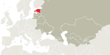 Map Estonia