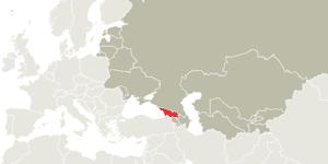 Map Georgia