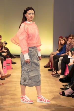 Manchester Fashion Week 2014, design by Helen Colville.