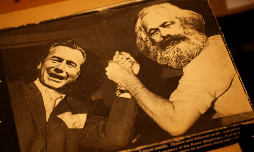 A copy of Class Struggle in The Working Class Movement Library in Salford in 2011