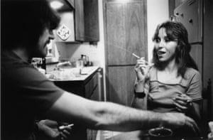 Jack and Lynn Johnson, Oklahoma City, 1973.