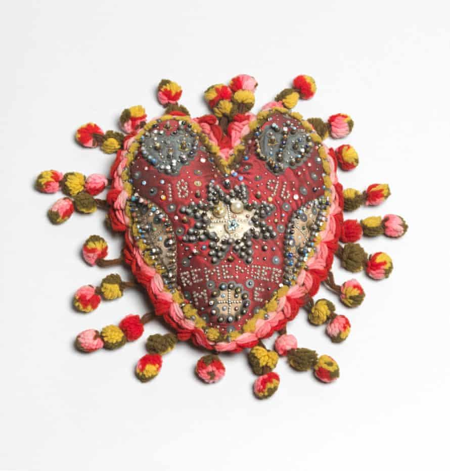 Heart pincushion.