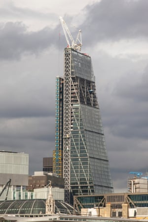 The Leadenhall building in London, otherwise know as the  Cheesegrater