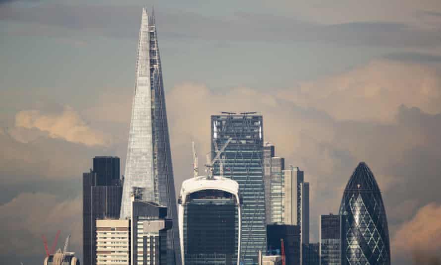 Skyscrapers in London's Square Mile