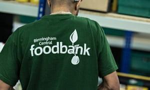 Foodbank worker