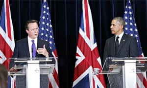 David Cameron said Putin's actions in Ukraine were unacceptable