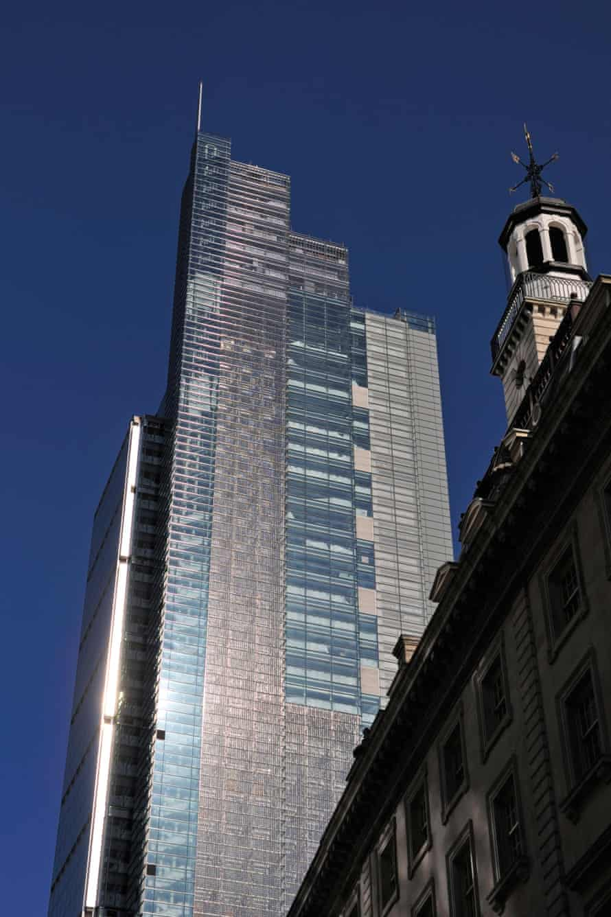 The Heron Tower in the City of London