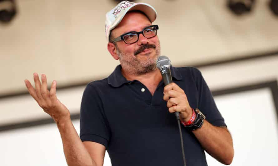 David Cross performs during day 2 of FYF Fest at Los Angeles State Historic Park on September 2, 2012 in Los Angeles, California.