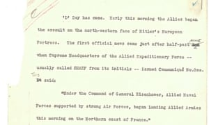 D-Day news