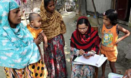 MDG : Bangladesh community health research worker