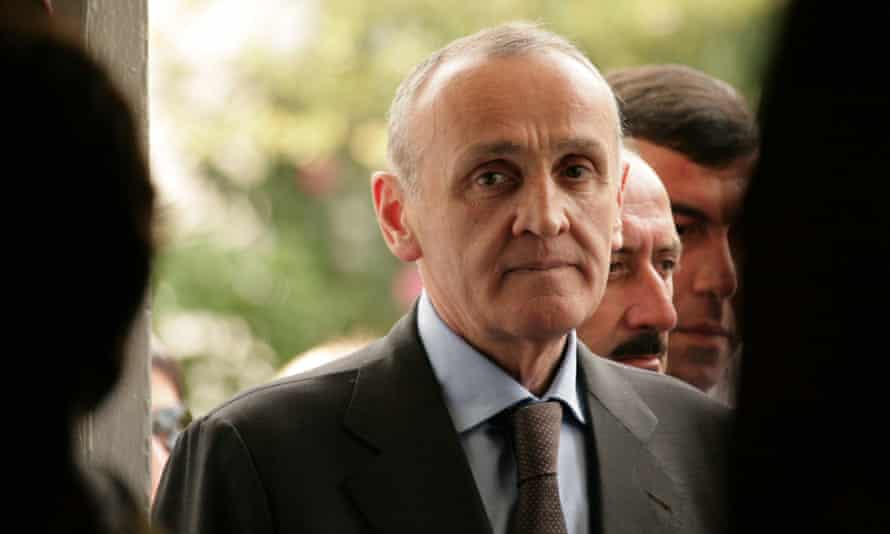 The former leader of Georgia's breakaway region of Abkhazia, Alexander Ankvab, was forced to resign in early June after days of political upheaval.