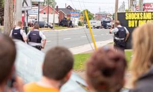 Moncton manhunt