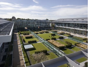 Highbury Square  is where football fans can tread the hallowed turf that was the former home of Arsenal Football Club, now a minimalist, modern garden