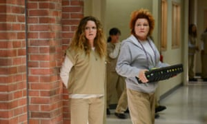 Lyonne and Kate Mulgrew in Orange is the new Black