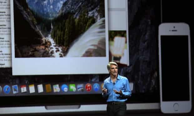 Craig Federighi, Apple's engineering head