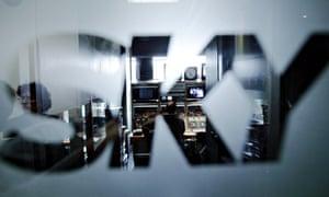Sky Italia studio in Milan