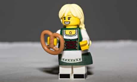 Lego Pretzel Girl