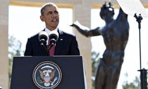 US President Barack Obama Normandy