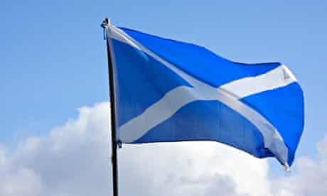 The Scottish saltire: 'There is nothing about Scotland that feels any less Scottish for it remaining