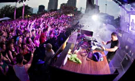The Movement festival in Detroit