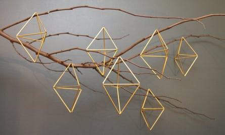 Himmeli sculptures