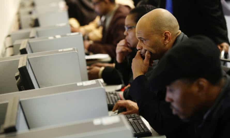 Job fair US unemployment