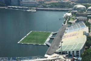 SoccerNet Nigeria:The Float at Marina Bay
