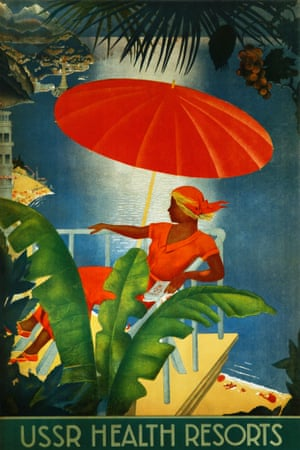 A tourism poster from the 1930s Photograph: David Pollack/KJ Historical/Corbis