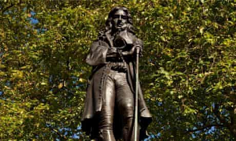 'One of the most evil men in English history' … the statue of Edward Colston.