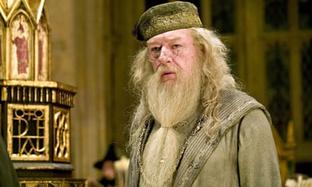 Michael Gambon as Professor Dumbledore in Harry Potter And The Goblet Of Fire