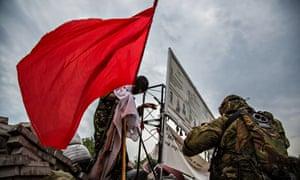 Pro-Russian Vostok battalion seizes regional administration in Donetsk