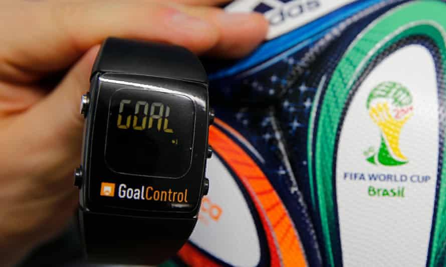 GoalControl watch