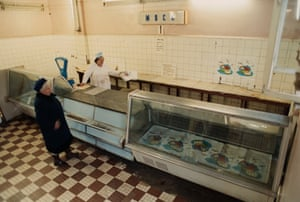 Food shortages were common across the Soviet Union.