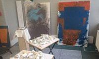 Gaynor Ithell's studio
