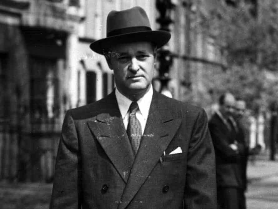 30 April 1952: The newly-appointed US ambassador to Moscow, diplomat and historian George Frost Kennan, walking in London.