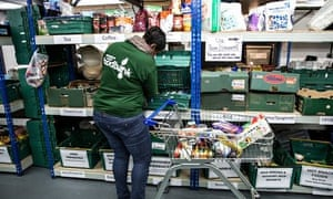 The Trussell Trust central food bank in Birmingham