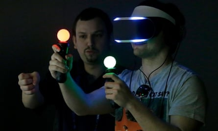 Sony's Project Morpheus virtual reality headset for PlayStation 4. Will there be an Xbox One rival?