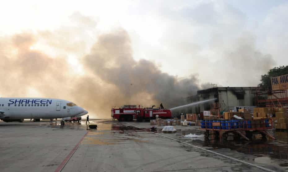Karachi airport attack