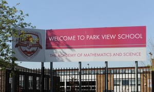 Park View school in Birmingham has been labelled as 'inadequate' by Ofsted today.