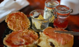 Tea, scones, and not making too much of a fuss.