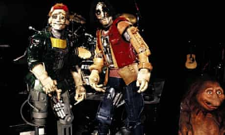 Evil robot Bill and Ted in Bill And Ted's Bogus Journey