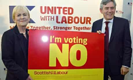 Gordon Brown chides PM for pitching referendum as Scotland v Britain