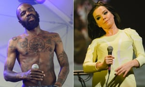 MC Ride of Death Grips and Bjork