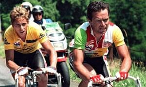 Greg LeMond Bernard Hinault