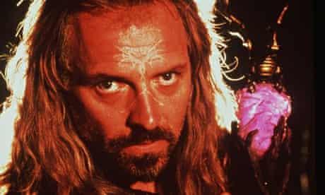 Rik Mayall in Merlin - The Return