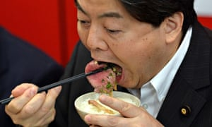 Japanese Agriculture Minister Yoshimasa