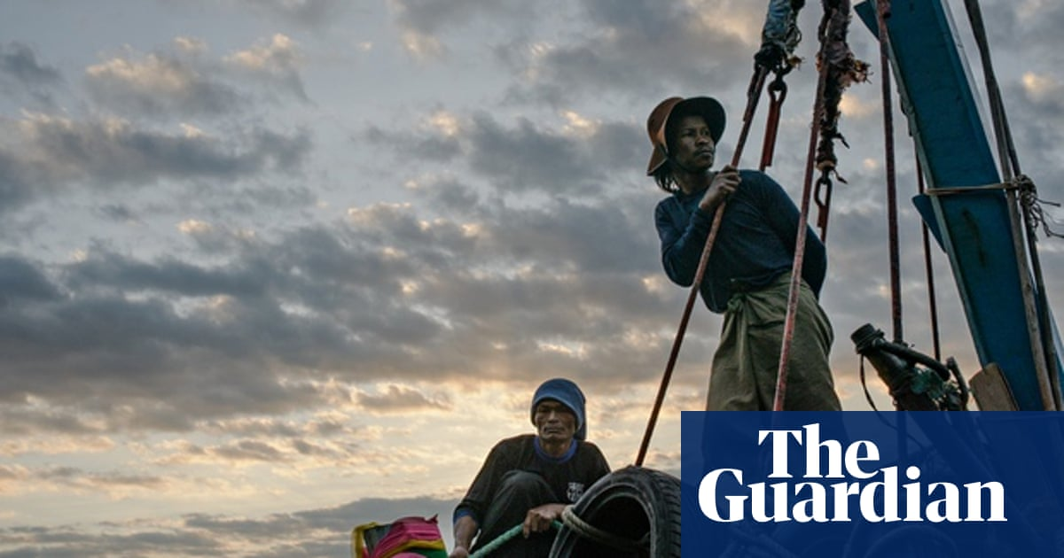 Trafficked into slavery on Thai trawlers to catch food for