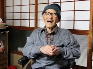 Jiroemon Kimura, who was Japan's oldest man until 2013