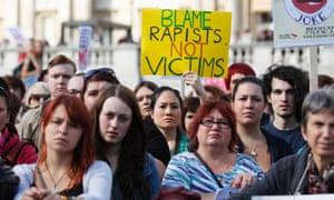 blame rapists
