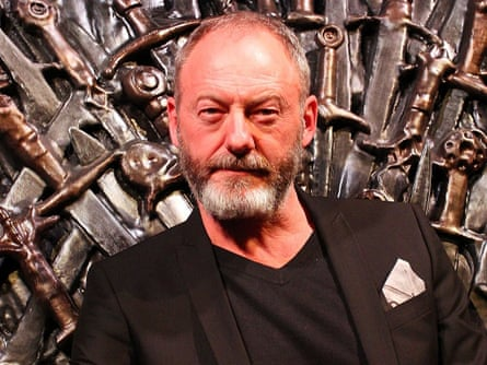 Liam Cunningham arrives at the launch of Game Of Thrones: The Exhibition at the Museum of Contemporary Art in Sydney.